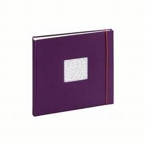 Album Photo Traditionnel à Coller : album photo traditionnel linea violet album photo ~ Melissatoandfro.com Idées de Décoration