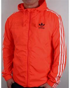 Adidas Originals Itasca Windbreaker Solar Red,jacket ...
