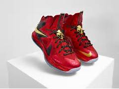 Nike LeBron X Championship   MVP Pack Miami Nights Palmers Cork Sample      Lebron 10 Championship Red