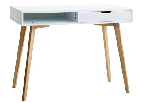 Desk TAMHOLT 1 drawer white/oak   JYSK
