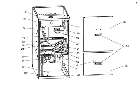 Evcon Air Conditioner Wiring Diagram by Coleman Furnace Parts Diagrams 30 Wiring Diagram Images