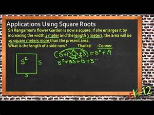 Square Root Applications | CK-12 Foundation