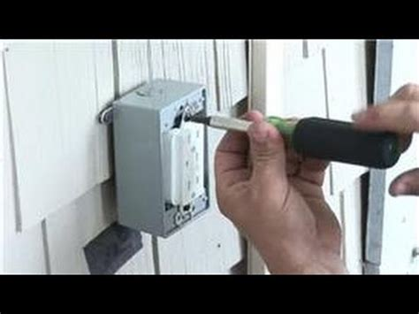 electrical    install  power receptacle