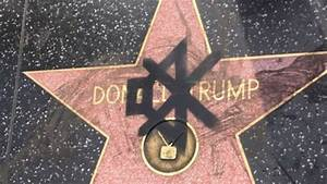Donald Trump's Hollywood star vandalised and defecated on ...