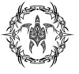 Tribal Sea Turtle Design