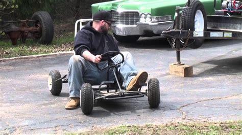 gokart TEST & TUNE Briggs & Stratton RAPTOR 5hp flathead ...