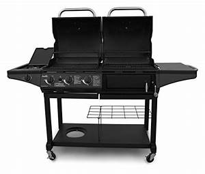 Kohle Gasgrill Kombination : char broil gas charcoal combo grill standard gas barbeque reviews ~ Frokenaadalensverden.com Haus und Dekorationen
