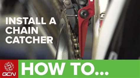 How To Install A Chain Catcher  Youtube