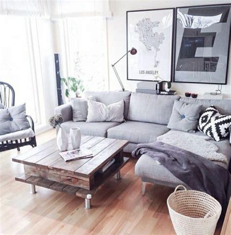 deco salon canape gris deco salon avec canape gris maison design sphena com