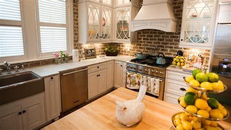 Kitchen Brick Backsplash : For Warm And Inviting Cooking
