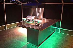 23 outdoor kitchen ideas bbq grill entertainment area With outdoor entertaining area lighting ideas