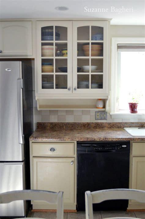 millstone  antique white kitchen cabinet makeover