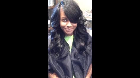 Outcome Of Full Sew In No Natural Leave Out
