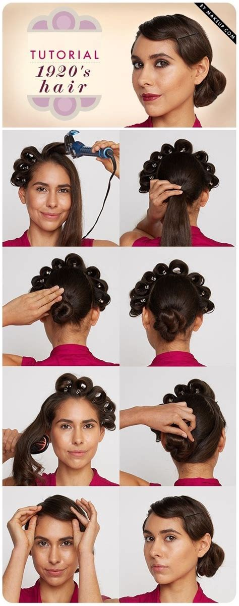 1920 Hairstyles Tutorial by 1920 S Inspired Hairstyle Tutorial Alldaychic