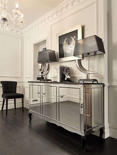mirrored sideboard table our stunning chelsea sideboard sideboards cabinets 4166