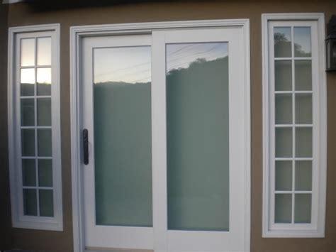 marvin sliding door with rubbed bronze hardware