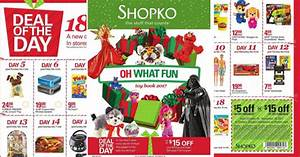Shopko Black Friday Ad 2017 - MyLitter - One Deal At A Time