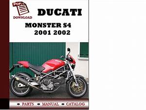 Ducati Monster S4 Parts Manual  Catalogue  2001 2002 Pdf