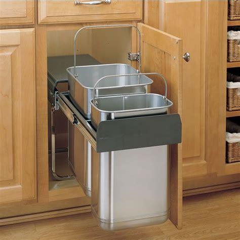 kitchen sink waste sink mount waste container kitchensource 2966
