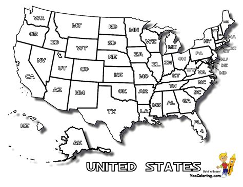 earthy map printables yescoloring  america