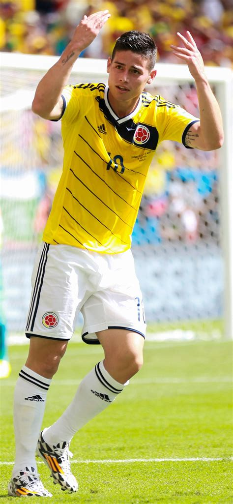 Game log, goals, assists, played minutes, completed passes and shots. James Rodríguez - Wikipedie