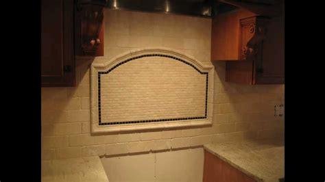 Tile Backsplash Ideas Kitchen - tumbled marble subway tile kitchen backsplash youtube