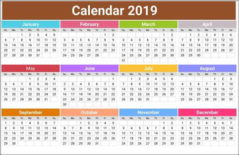 printable calendar usa uk india canada