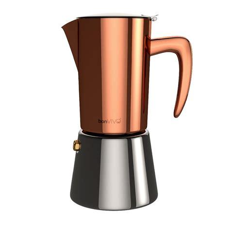 This the best stovetop coffee maker how to guide! bonVIVO Intenca Stovetop Espresso Maker, Italian Espresso ...
