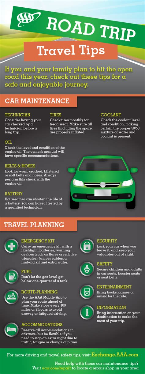 Holiday Road Trip Travel Tips AAA Exchange