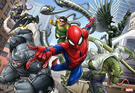 Marvel's Spiderman Terá Vilões Clássicos Da Série Anmtv
