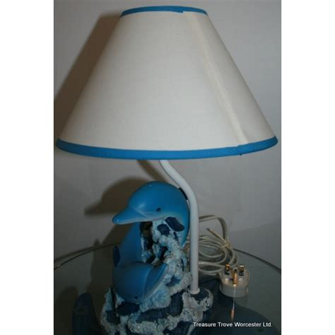 dolphin table lamp