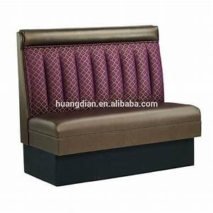 Cheap Price Modern Used Leather Restaurant Booth Sofa
