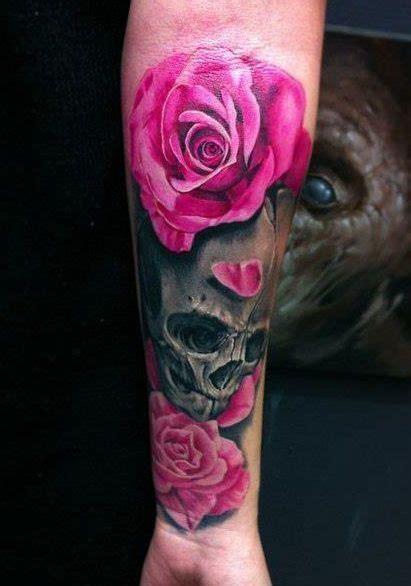 ideas  pink rose tattoos  pinterest pink tattoos thigh tat  cute thigh tattoos