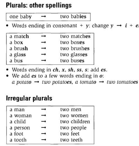 ing 370 2015 2 singular and plural nouns unit 1