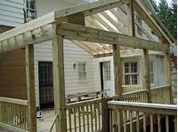 build a porch Building a Screened-in Porch