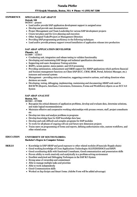 Abap Resume India cover letter for abap resume set that will develop an
