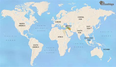 World Map Ancient Mesopotamia