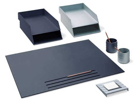 set de bureau design set de bureau en technopolymère collection status by