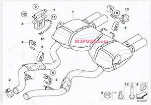 E92 M3 Exhaust Diagrams