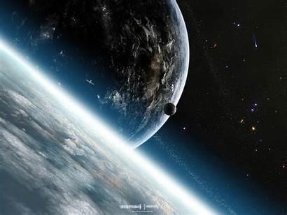 Space Planet Desktop Wallpapers Deep Background Field