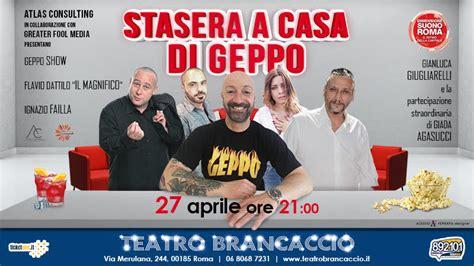 Stasera A Casa Di by Stasera A Casa Di Geppo Dimensione Suono Roma