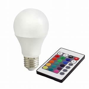 Led Farbwechsel Lampe Mit Fernbedienung : 7 5w led lampe warmweiss rgb farbwechsel mit fernbedienung e27 bioledex rgbw ebay ~ Buech-reservation.com Haus und Dekorationen