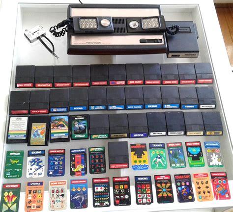 mattel console vintage 1979 mattel intellivision console with