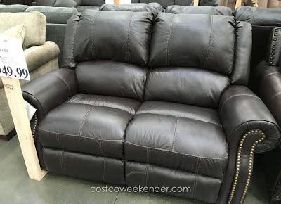 Berkline Leather Reclining Sofa by Berkline Reclining Leather Loveseat Costco Weekender