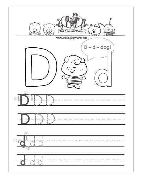 alphabet letter d worksheets homeshealth info