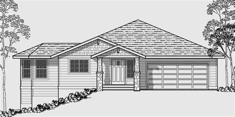 house plans for sloped lots house plans on sloping lot