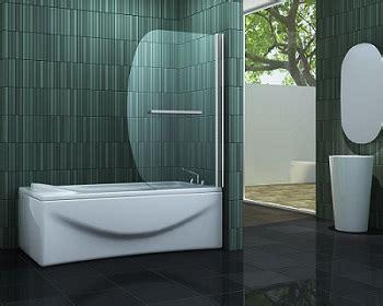 badewanne aus glas ᐅ duschwand aus glas f 252 r badewanne dusche walk in dusche
