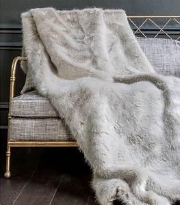 Plaid Fourrure Blanc : plaid fausse fourrure luxe persan plaid addict vente en ~ Nature-et-papiers.com Idées de Décoration