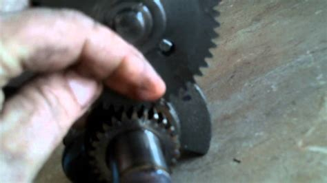 how to set the engine valve timing