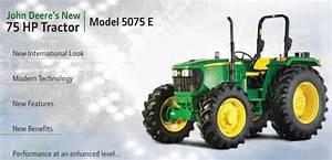John Deere 5075e 4wd 75hp  Price Spec Configuration Overview